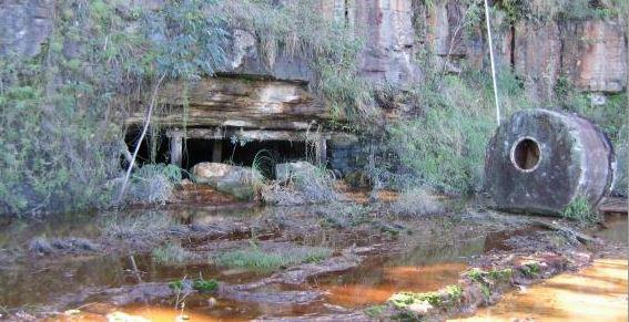 boca de mina com DAM 2