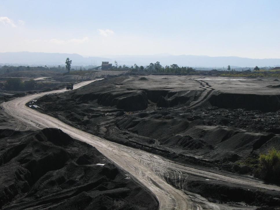 mineração - pátio